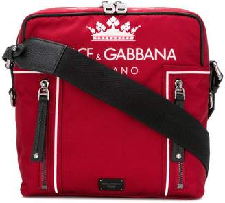 Dolce & Gabbana logo shoulder bag