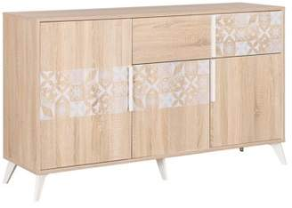 Chloé Diagone Sideboard with 3 Doors and 1 Drawer