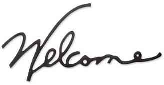 Williams-Sonoma Williams Sonoma WELCOME Wire Wall Art