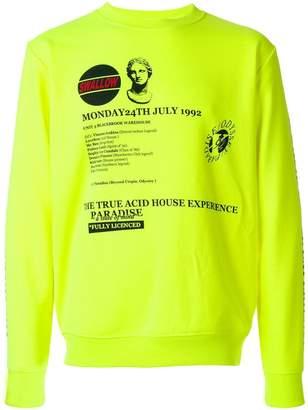 McQ graphic print sweatshirt