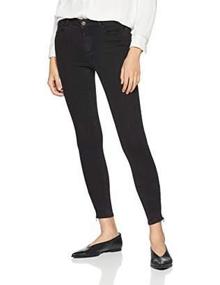0e57020df31 Vero Moda Women s Vmhot Seven Mr Slim Ankle Zip Pants DNM Skinny Jeans