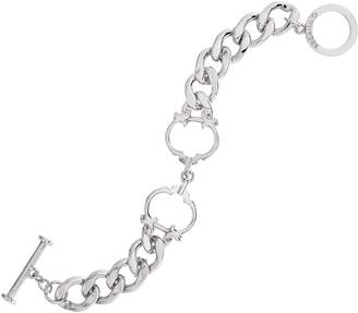 "C. Wonder Interlocking Status ""C"" Station Curb Link Bracelet"