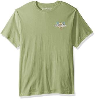 Margaritaville Men's Short Sleeve Parrot Pirate T-Shirt