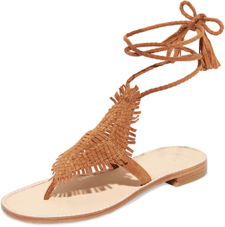 Joie Kacia Wrap Sandals $298 thestylecure.com
