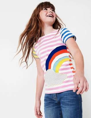 Boden Hotchpotch Applique T-shirt