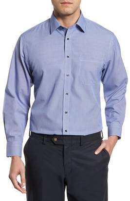 Nordstrom Smartcare(TM) Traditional Fit Micro Check Dress Shirt