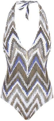 Gottex Zip Front Swimsuit