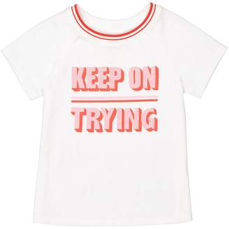 La Redoute COLLECTIONS Printed T-Shirt with Short Raglan Sleeves, 3-12 Years
