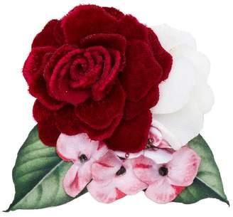 MonnaLisa rose brooch
