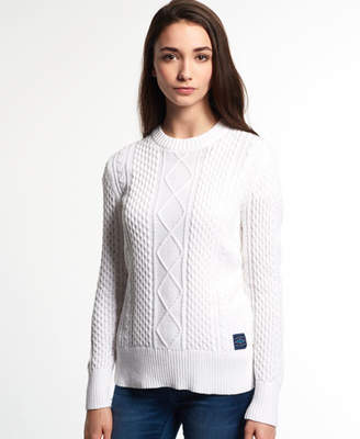 Superdry Saunton Cable Knit Sweater