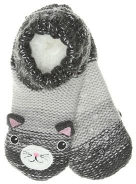 Mix No. 6 Cat Women's Slipper Socks