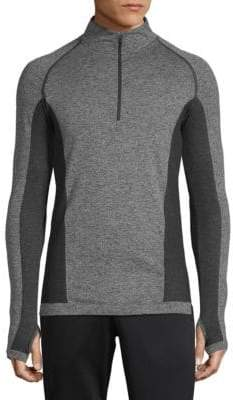 Cross X Seamless Quarter-Zip Top