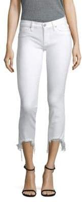 Hudson Tally Raw Hem Skinny Jean