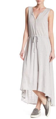 H By Bordeaux Linen Grecian Maxi Dress