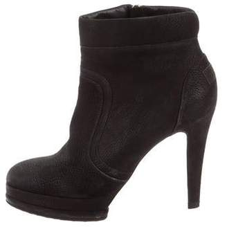 Chanel Suede Ankle Booties