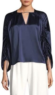 Parker Thyme Silk Blouse