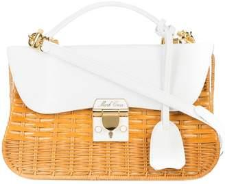 Mark Cross structured straw bag