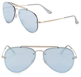 Ray-Ban 58MM Blaze Aviator Optical Glasses