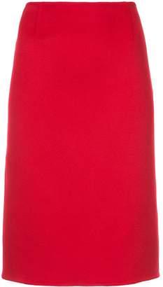 Ralph Lauren fitted midi skirt