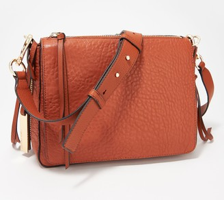 Vince Camuto Lamb Leather Flap Crossbody Bag - Ida