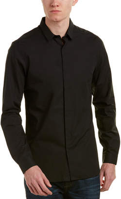 The Kooples The New Popeline Fitted Shirt