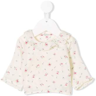Bonpoint floral ruffled blouse