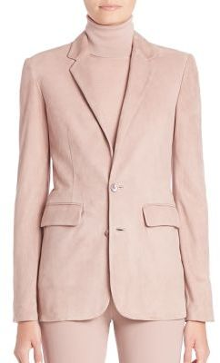 Ralph Lauren Collection Yvette Suede Blazer $3,990 thestylecure.com