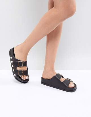 Miss KG Pearl Double Strap Slip On