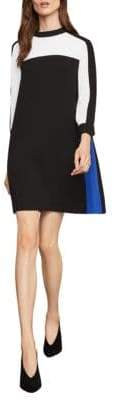 BCBGMAXAZRIA Colorblock Shift Dress