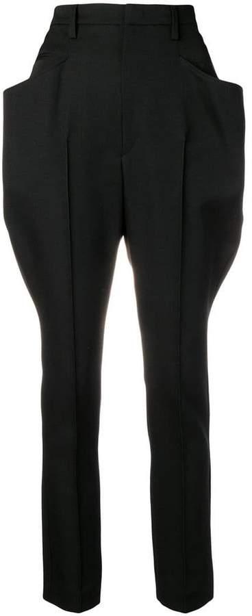 side pocket trousers