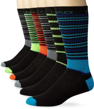 Head Men's socks , 6 PR, Shoe Size 6-12.5/Sock