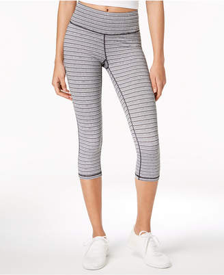 Ideology Striped Cropped Leggings, Created for Macy's