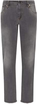 Brunello Cucinelli Light-Wash Straight-Leg Jeans
