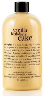 Philosophy Vanilla Birthday Cake Shower Gel 16 Oz