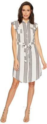 Bishop + Young Stripe Shirtdress Women's Dress
