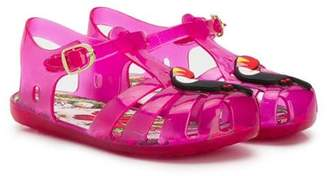 be5f7907dbd Colors of California Kids toucan embellished jelly sandals