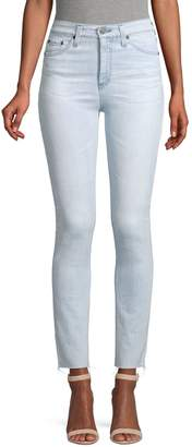 AG Jeans High-Rise Skinny Jeans