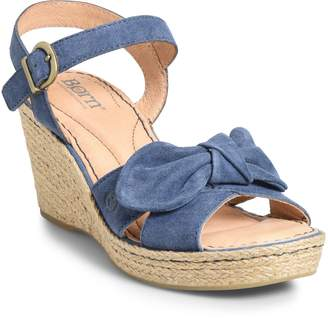 2acb046a80b6 Børn Monticello Knotted Wedge Sandal