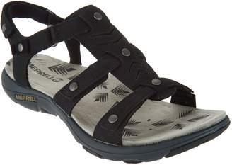 Merrell Triple Strap Leather Sandals - Adhera Three Strap II