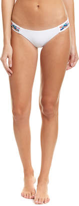Red Carter Hipster Bikini Bottom