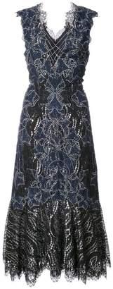 Jonathan Simkhai flared lace dress