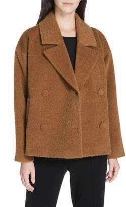 Eileen Fisher Wool & Alpaca Blend Short Jacket