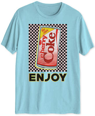 Hybrid Cherry Coke Men Graphic T-Shirt