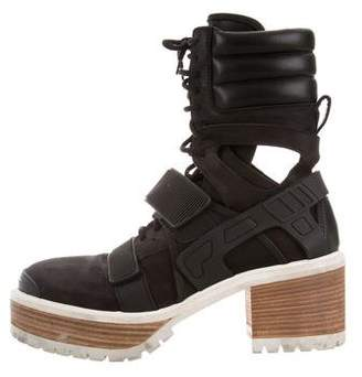 Hood by Air Avalanche Ankle Boots