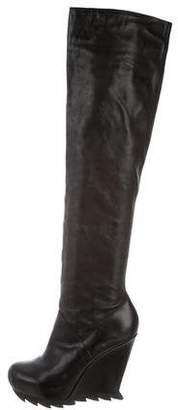 Camilla Skovgaard Over-The-Knee Wedge Boots