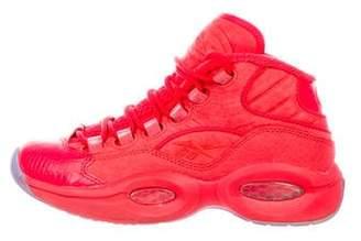 Reebok Suede High-Top Sneakers