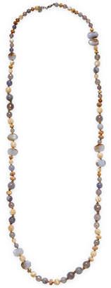 Chan Luu Silver & Semi-Precious Stone Necklace