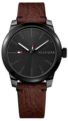 Tommy Hilfiger Black Stainless Steel Watch