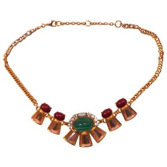 Gerard Yosca Gold Metal Necklace