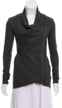 Helmut Lang Casual Asymmetrical Jacket Grey Casual Asymmetrical Jacket